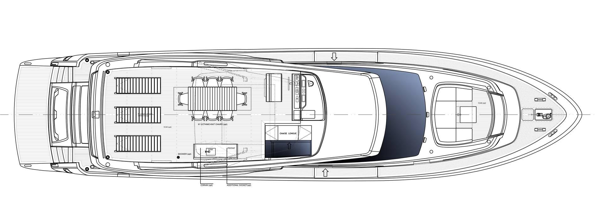 Sanlorenzo Yachts SL78-695 Флайбридж