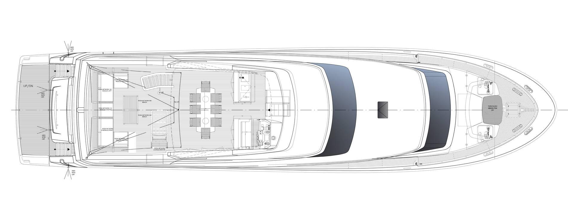 Sanlorenzo Yachts SL96-635 Außendeck