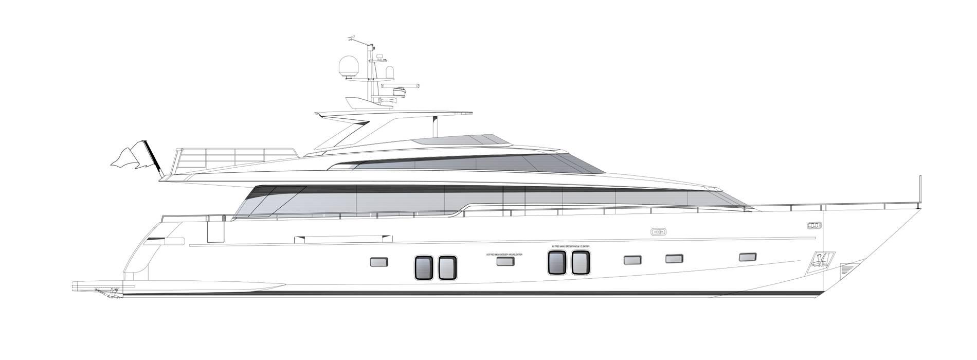 Sanlorenzo Yachts SL96-684 Perfil