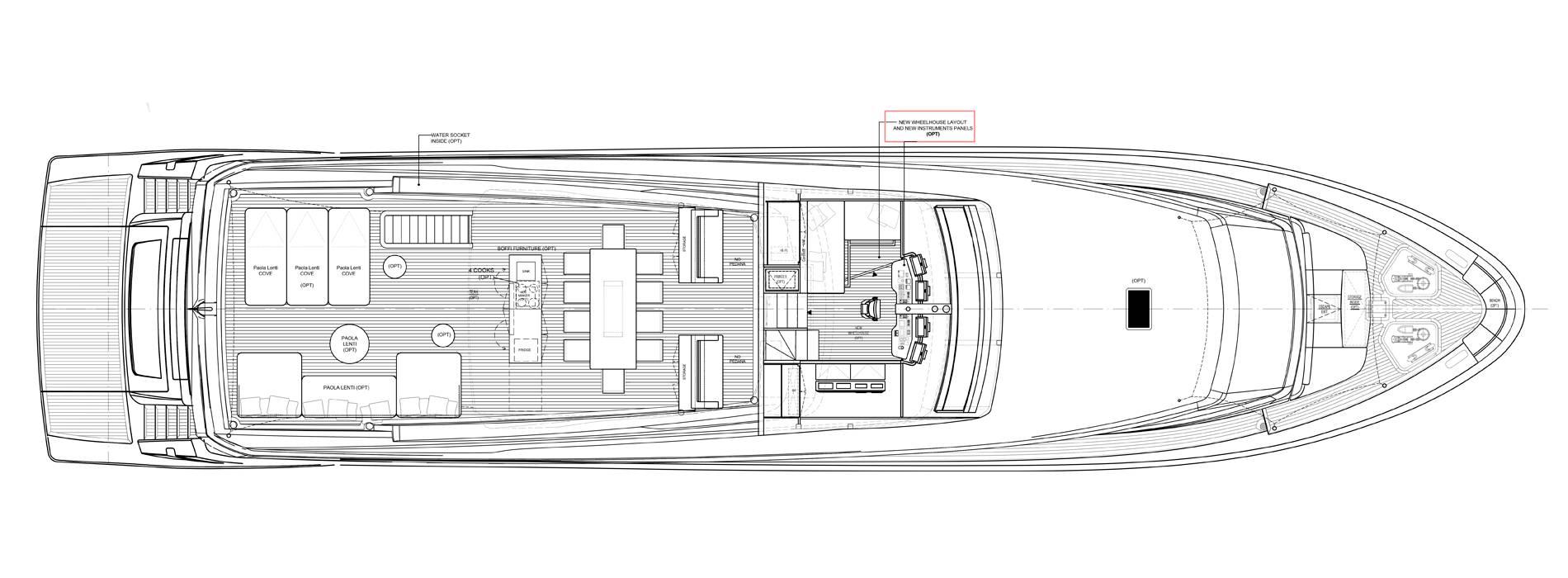 Sanlorenzo Yachts SL106-625 Außendeck