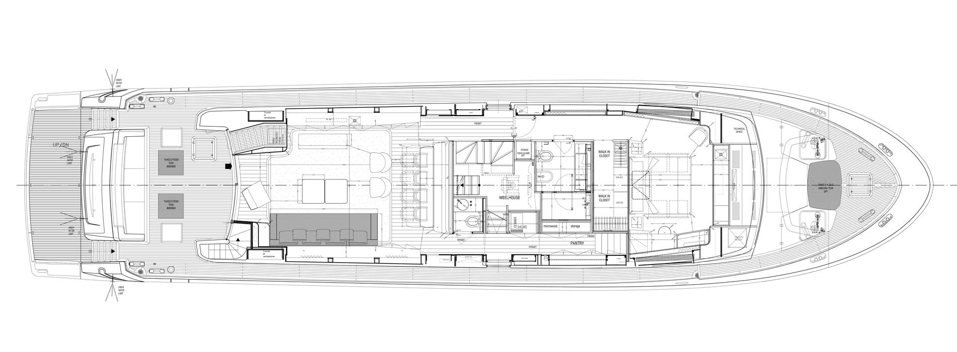 Sanlorenzo Yachts SL96-635 Main deck