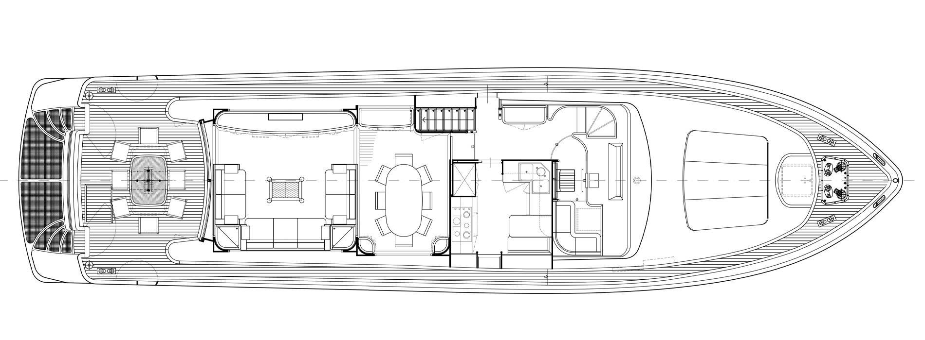 Sanlorenzo Yachts SL82-469 Mazuki Main Deck