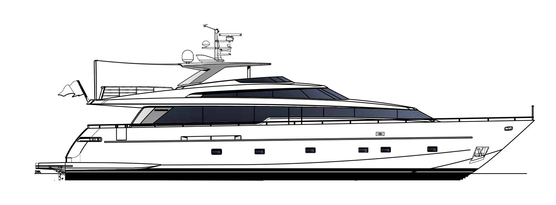 Sanlorenzo Yachts SL96-623 Профиль