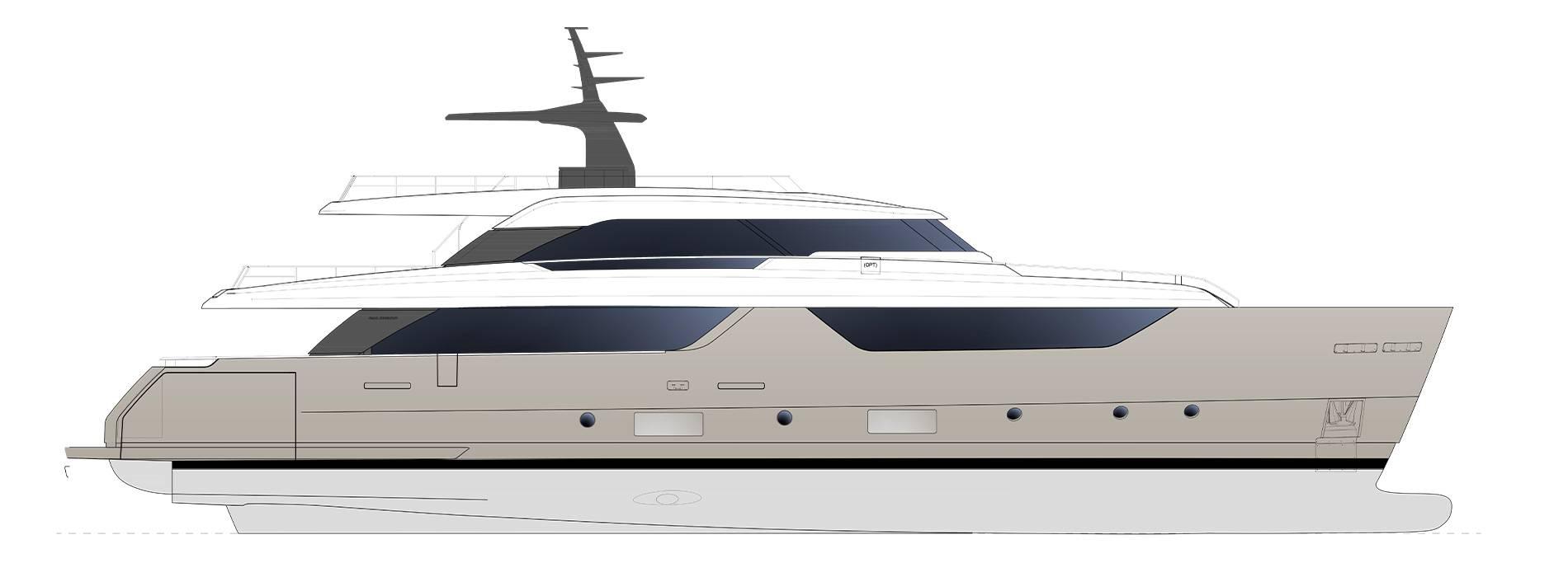 Sanlorenzo Yachts SD118 Profilo