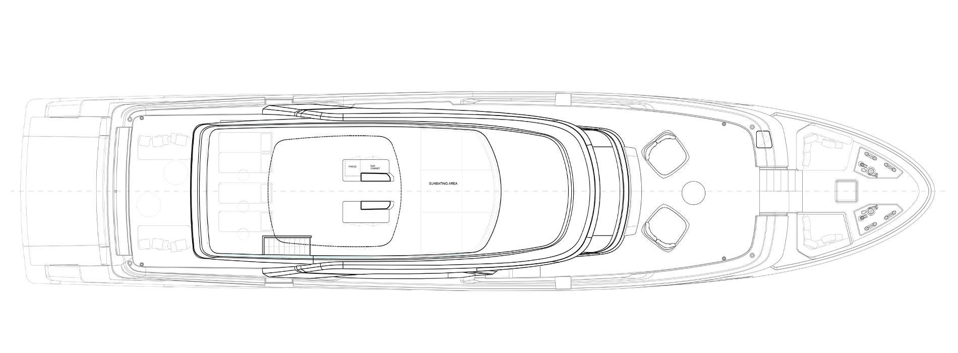 Sanlorenzo Yachts SD118 Außendeck