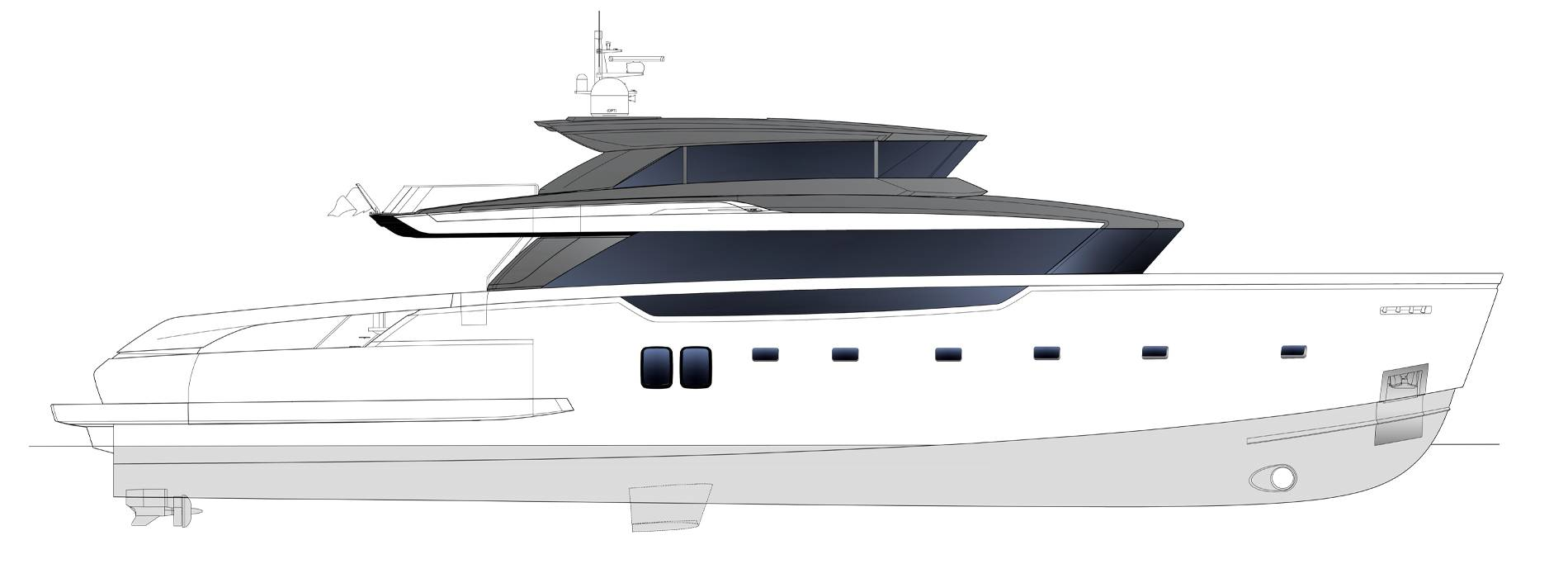 Sanlorenzo Yachts SX112 Profilo