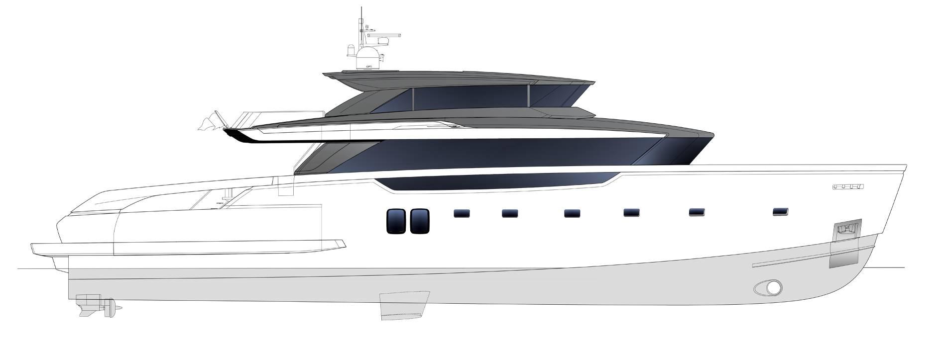 Sanlorenzo Yachts SX112 Profil