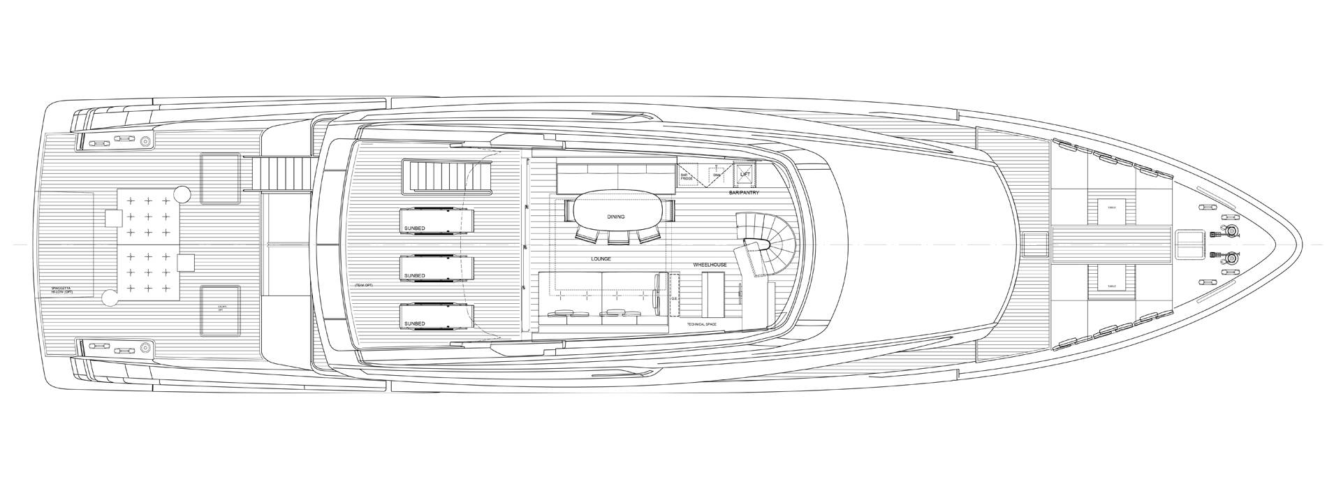 Sanlorenzo Yachts SX112 飞桥