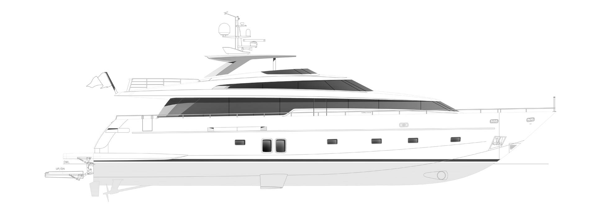 Sanlorenzo Yachts SL96-631 Profilo