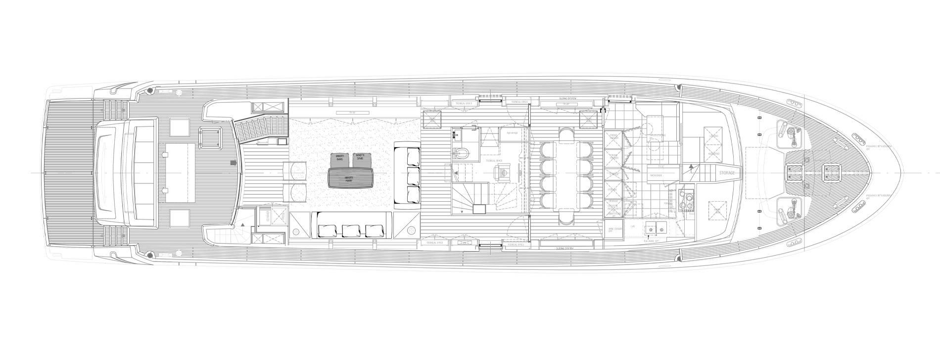 Sanlorenzo Yachts SL96-631 Главная палуба