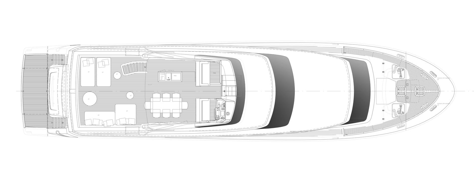 Sanlorenzo Yachts SL96-631 under offer Флайбридж