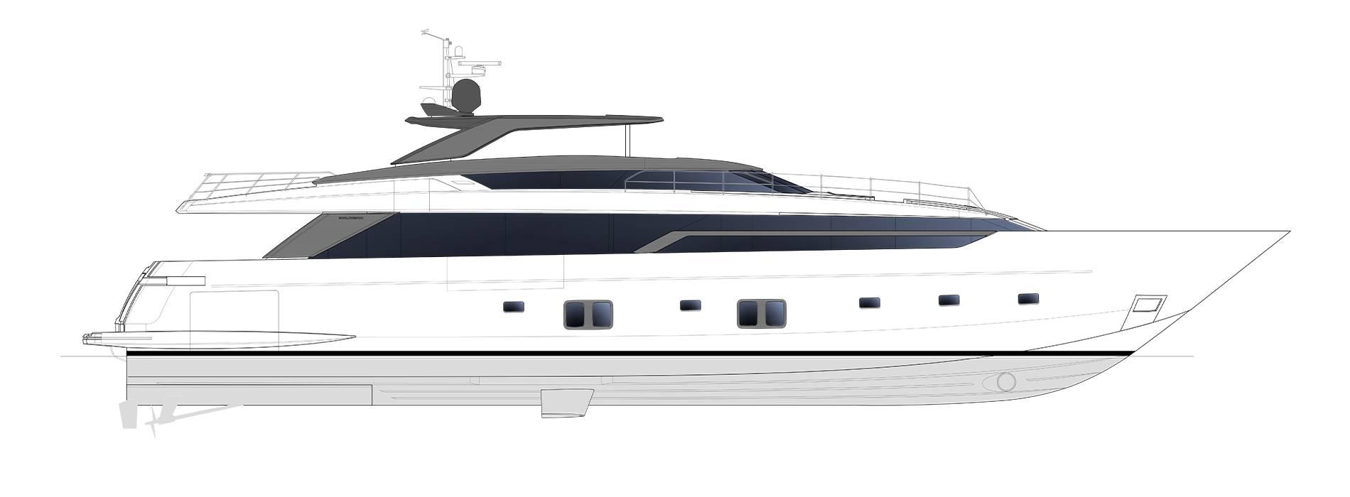 Sanlorenzo Yachts SL120 Asymmetric Profil