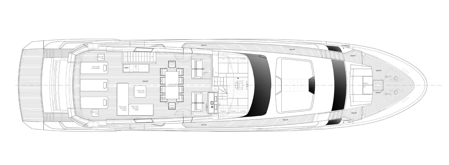 Sanlorenzo Yachts SL102A-746 under offer Flying bridge