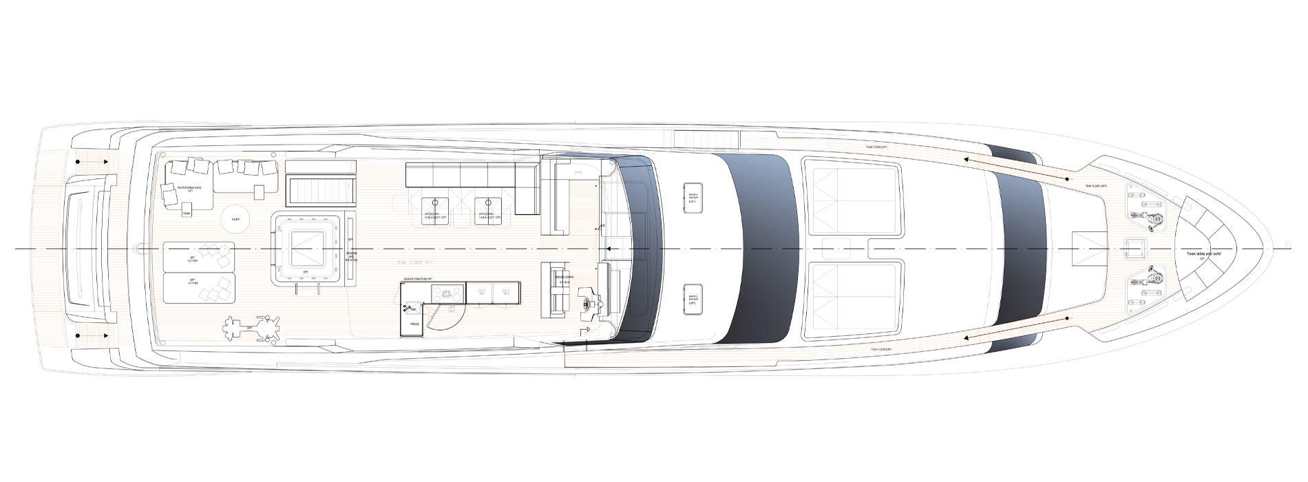 Sanlorenzo Yachts SL118-628 Flying bridge