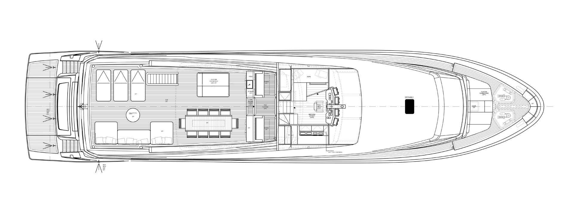 Sanlorenzo Yachts SL106-725 飞桥