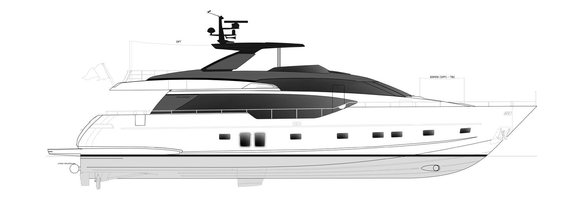 Sanlorenzo Yachts SL86-727 Профиль