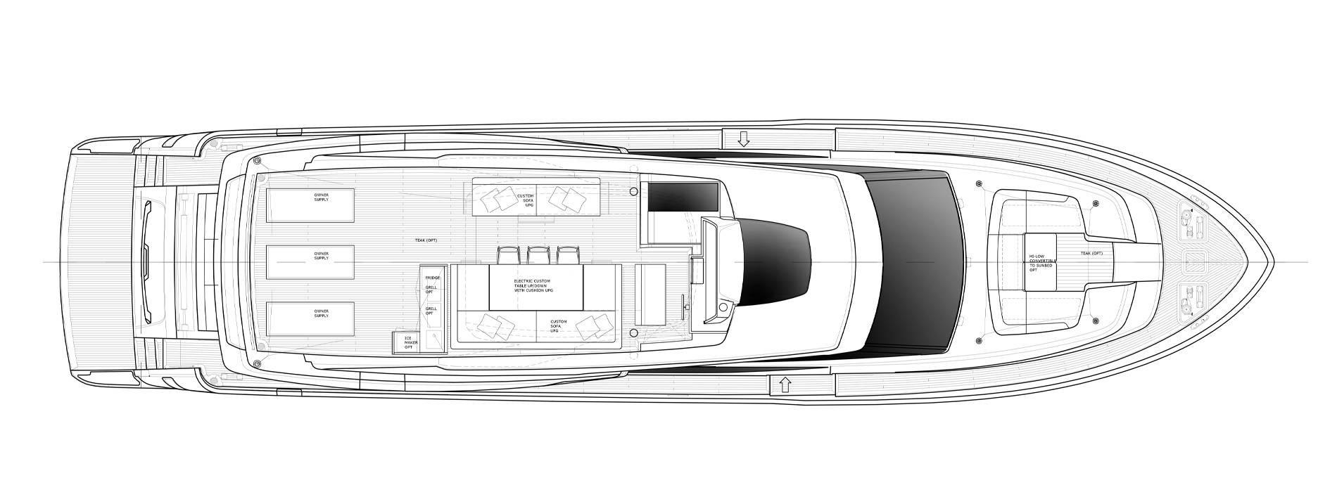 Sanlorenzo Yachts SL86-727 Außendeck