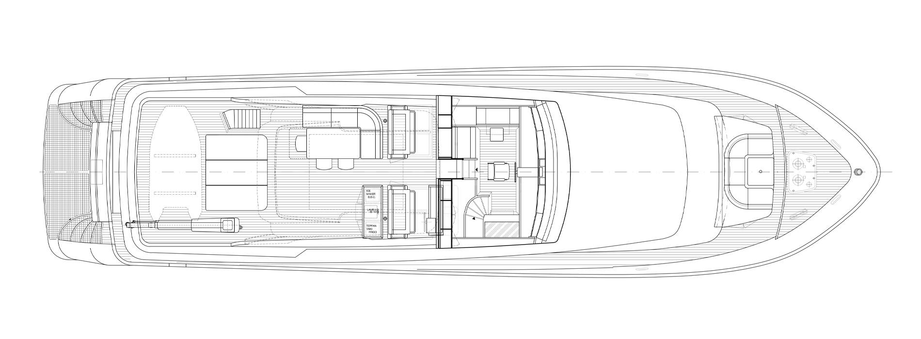 Sanlorenzo Yachts SL88-541 Флайбридж