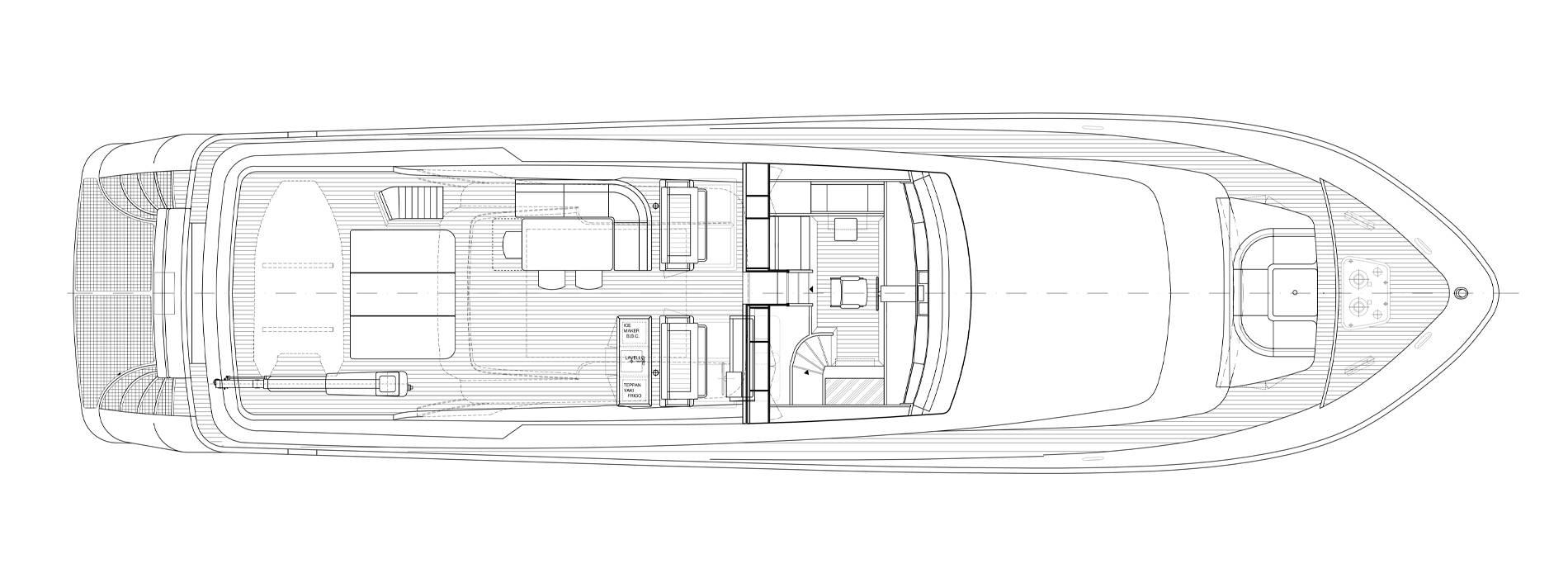 Sanlorenzo Yachts SL88-541 Außendeck