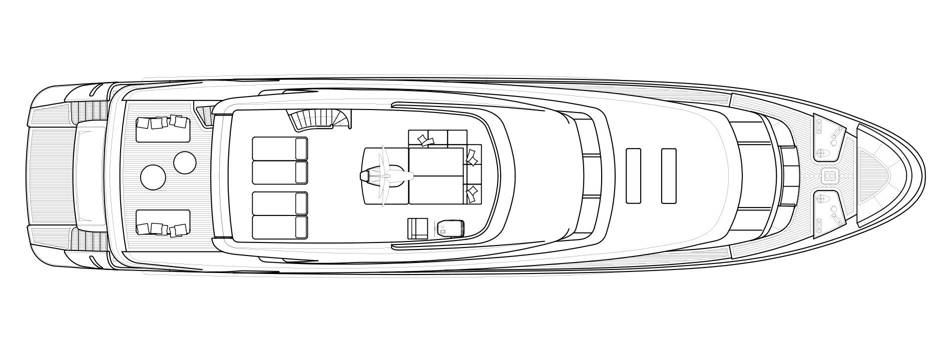 Sanlorenzo Yachts SD112 Флайбридж версия B
