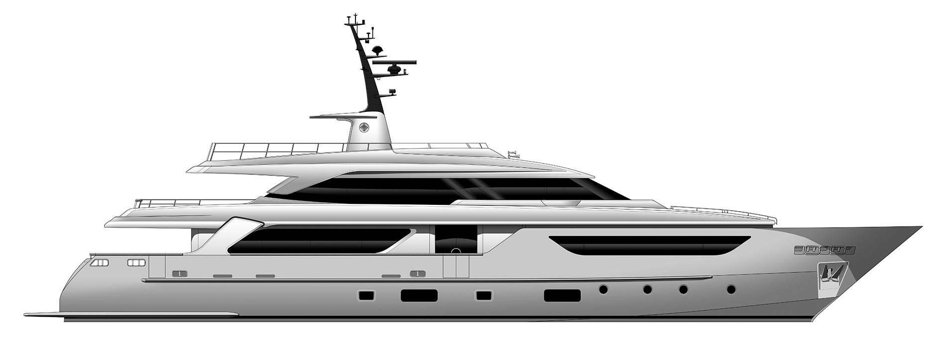 Sanlorenzo Yachts SD126 Профиль
