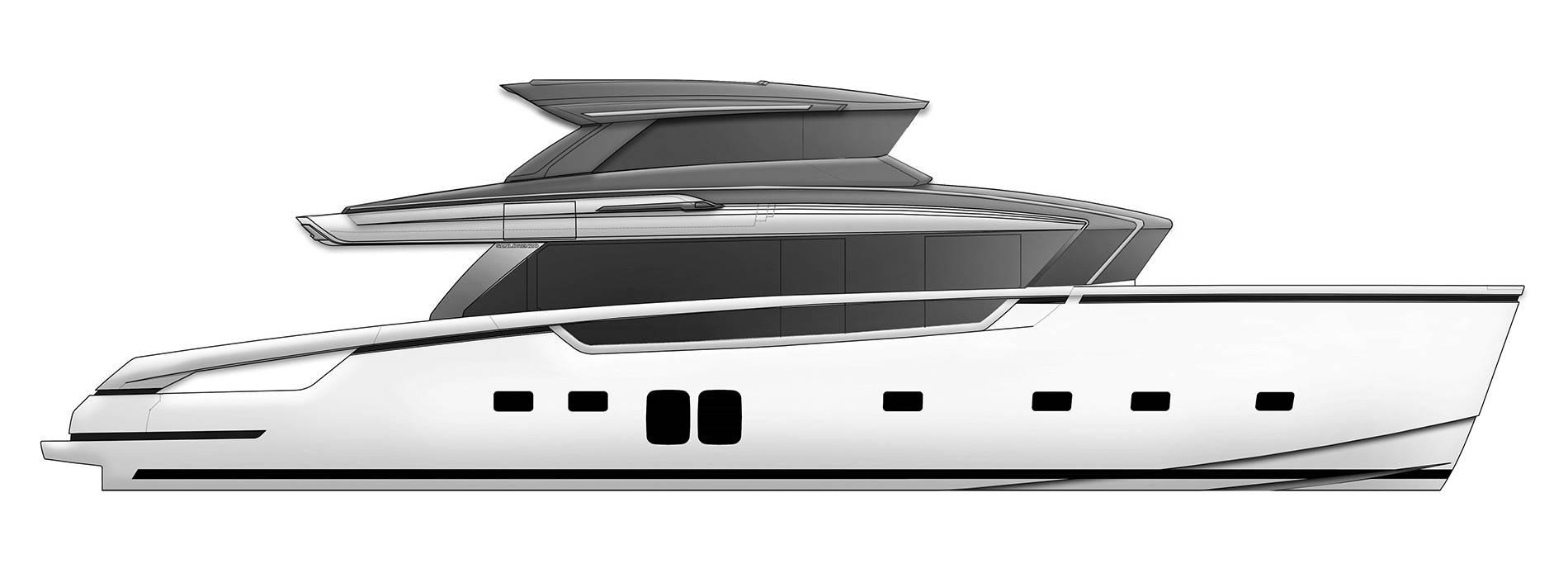 Sanlorenzo Yachts SX76 Профиль
