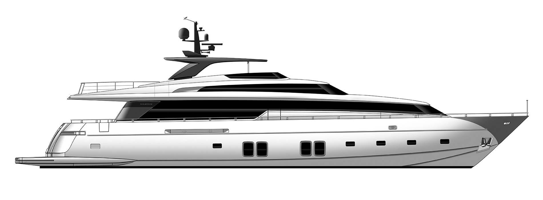 Sanlorenzo Yachts SL106 Perfil