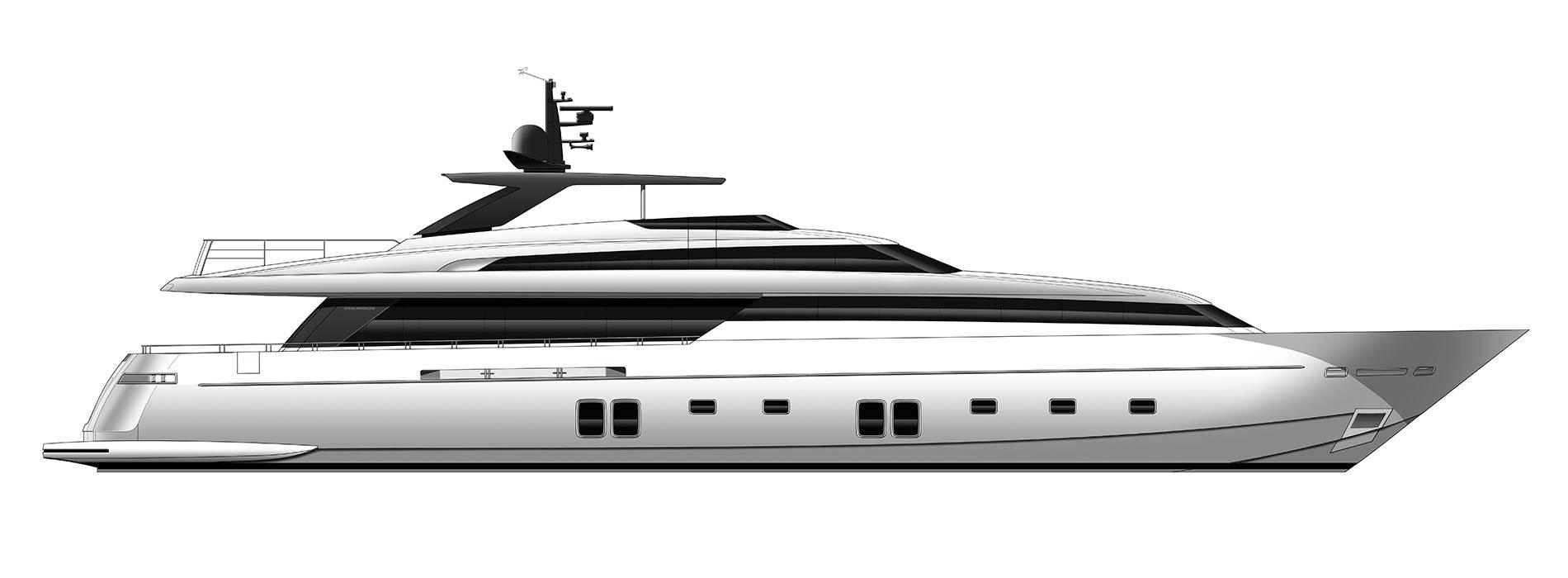 Sanlorenzo Yachts SL118 Perfil