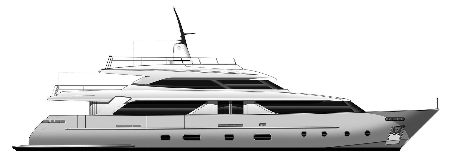 Sanlorenzo Yachts SD112 Perfil