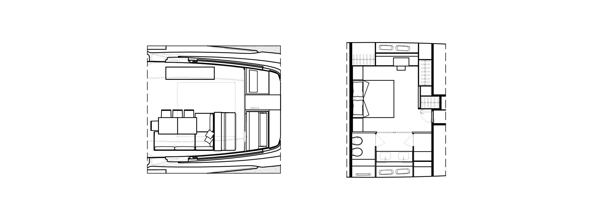 Sanlorenzo Yachts SX88 Detalles Versione A