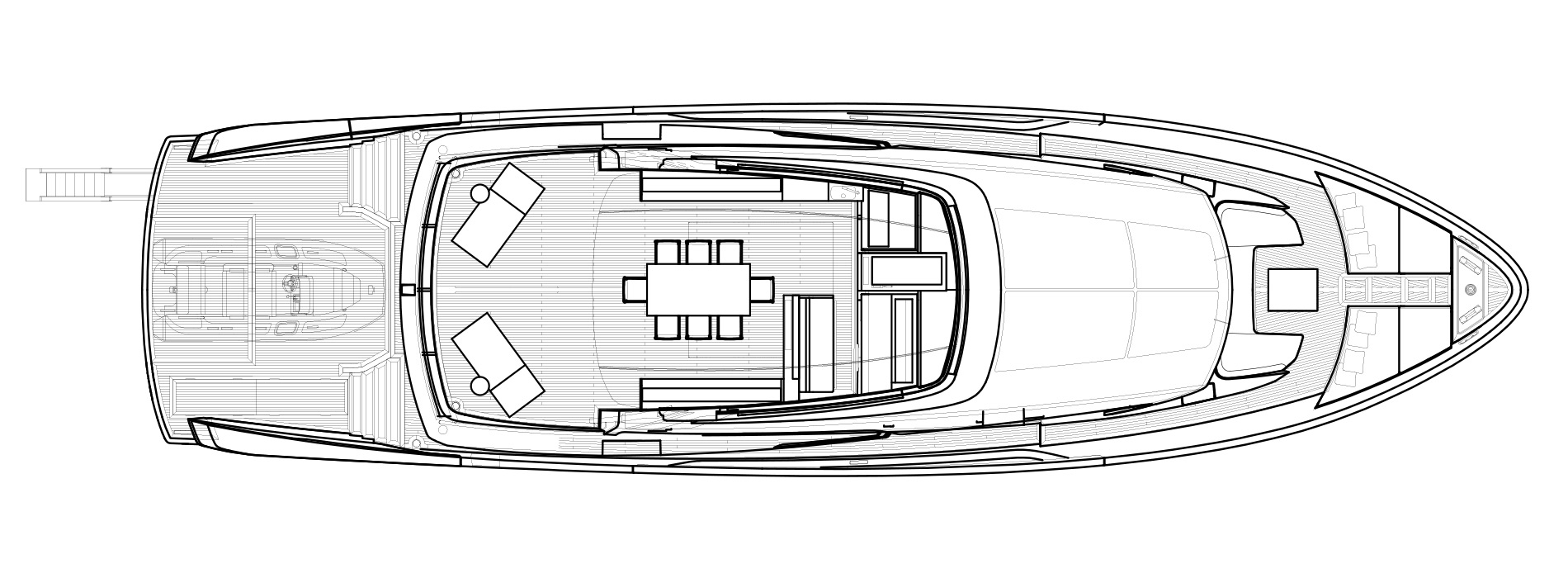 Sanlorenzo Yachts SX88 Flying bridge Versione Lissoni