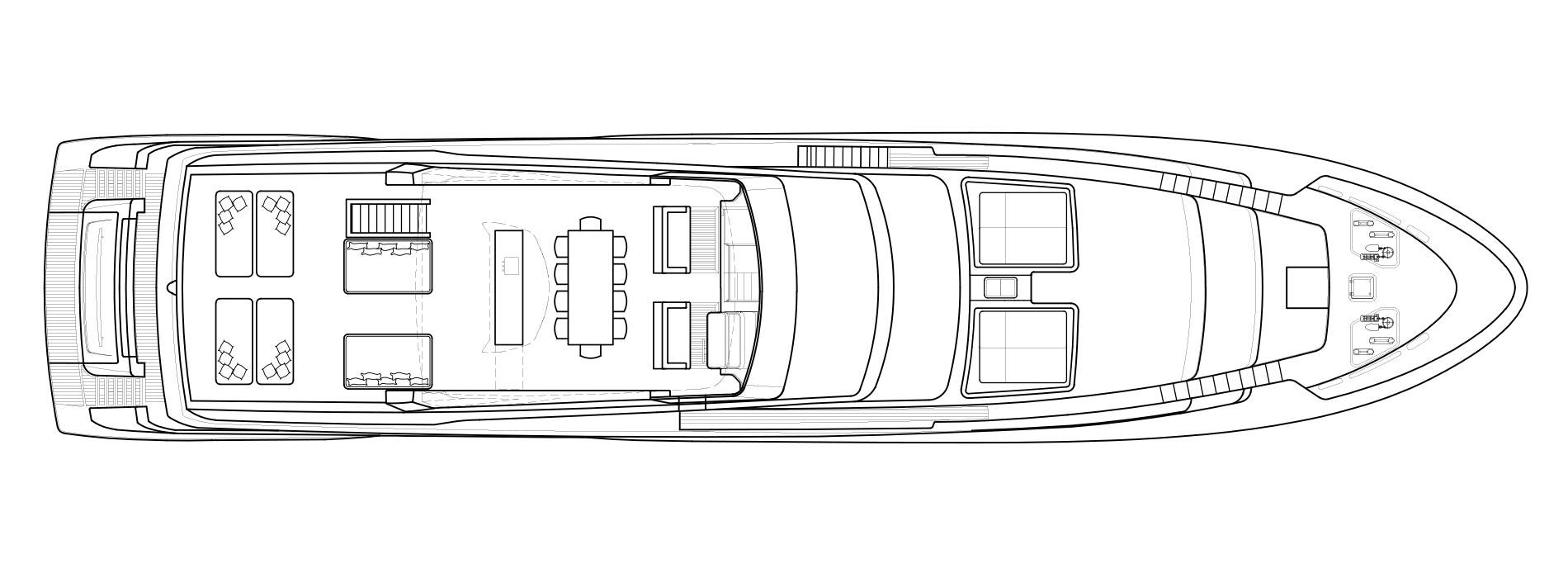 Sanlorenzo Yachts SL118 Flying bridge
