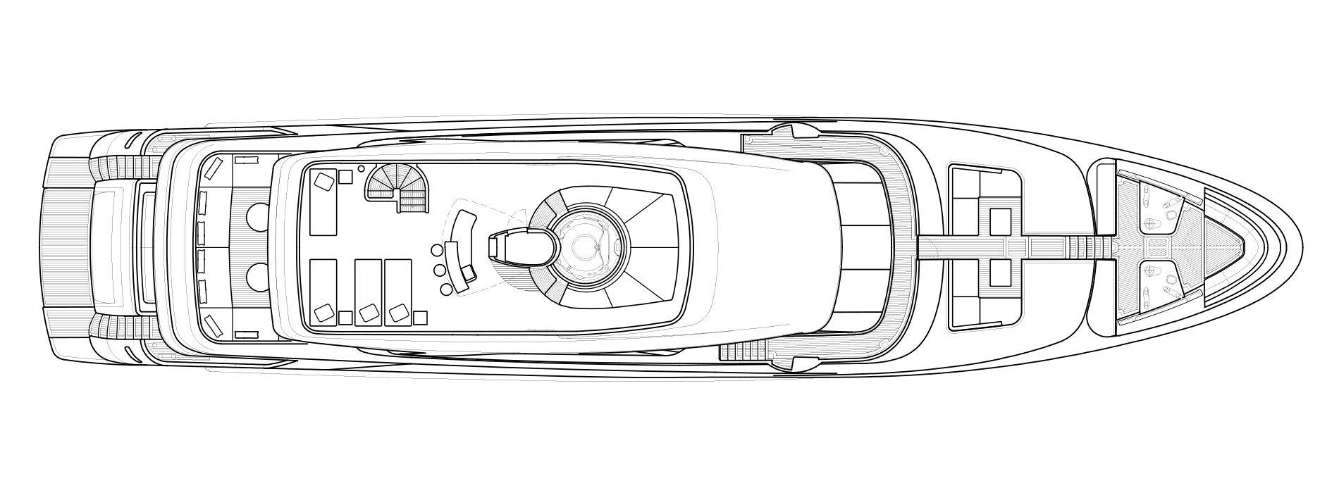 Sanlorenzo Yachts SD126 飞桥 Versione A