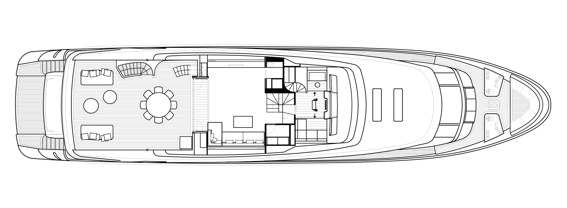 Sanlorenzo Yachts SD112 Upper Deck Version A