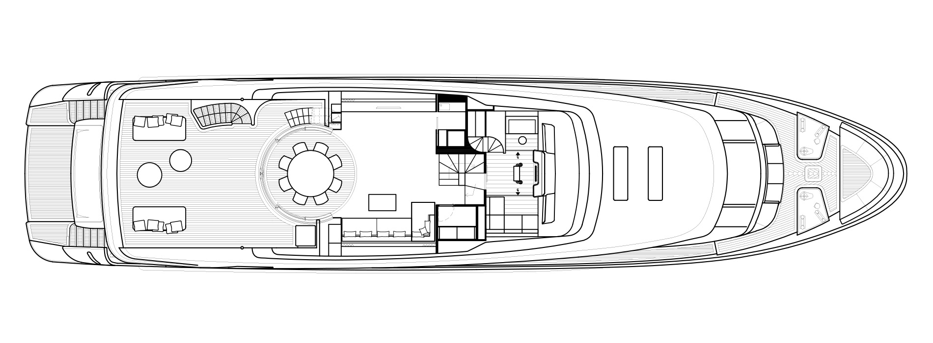 Sanlorenzo Yachts SD112 Upper Deck Version B