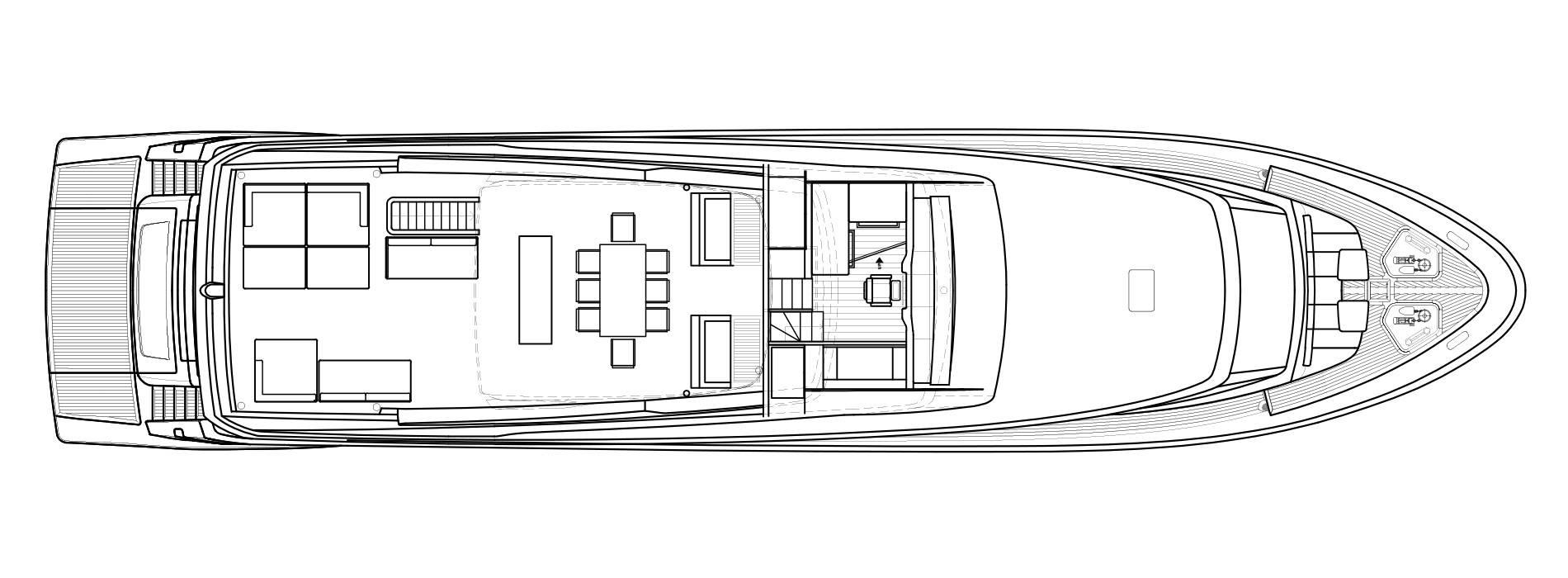 Sanlorenzo Yachts SL106 Flying bridge