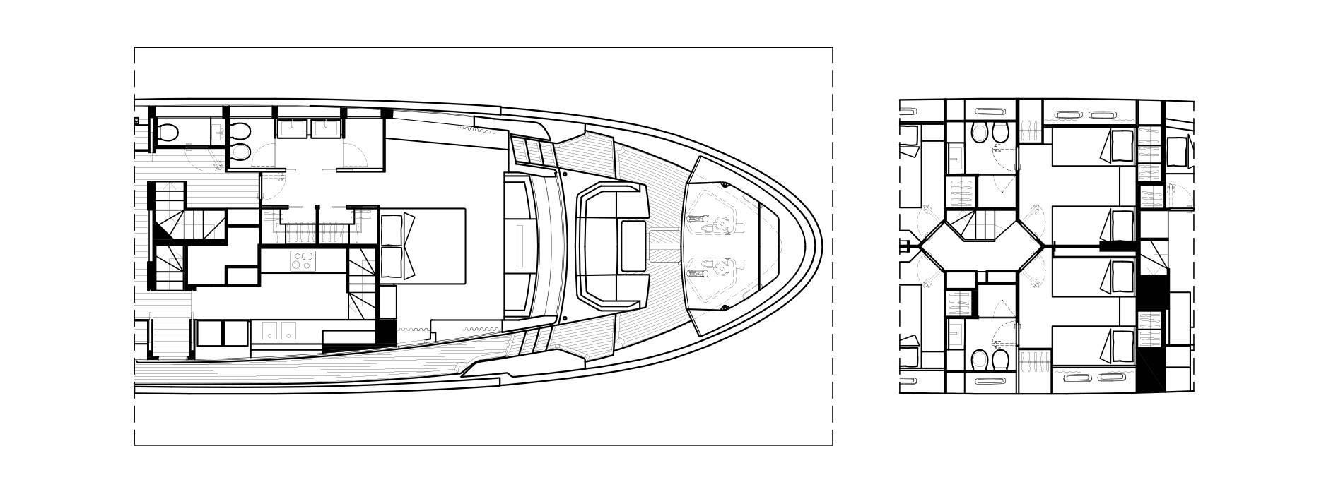 Sanlorenzo Yachts SL102 Asymmetric Détails