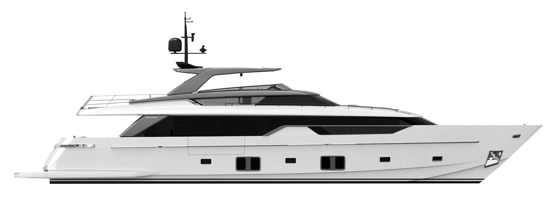 Sanlorenzo Yachts SL102 Asymmetric Profilo