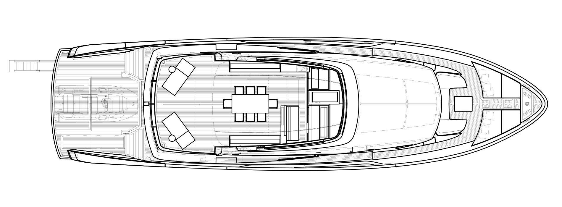 Sanlorenzo Yachts SX88 Außendeck Versione Lissoni