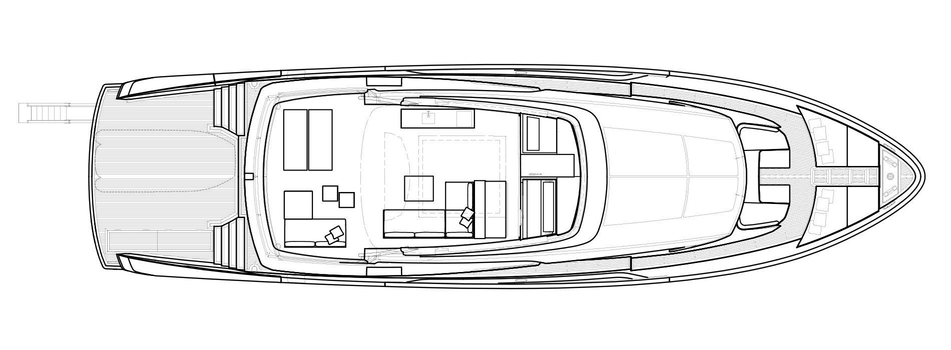 Sanlorenzo Yachts SX88 Außendeck Versione A