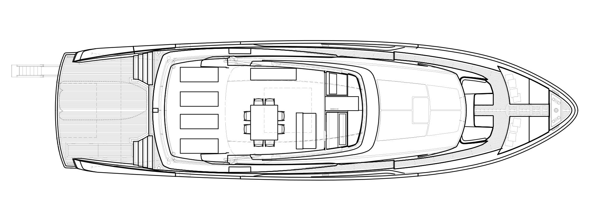 Sanlorenzo Yachts SX88 Außendeck Versione B