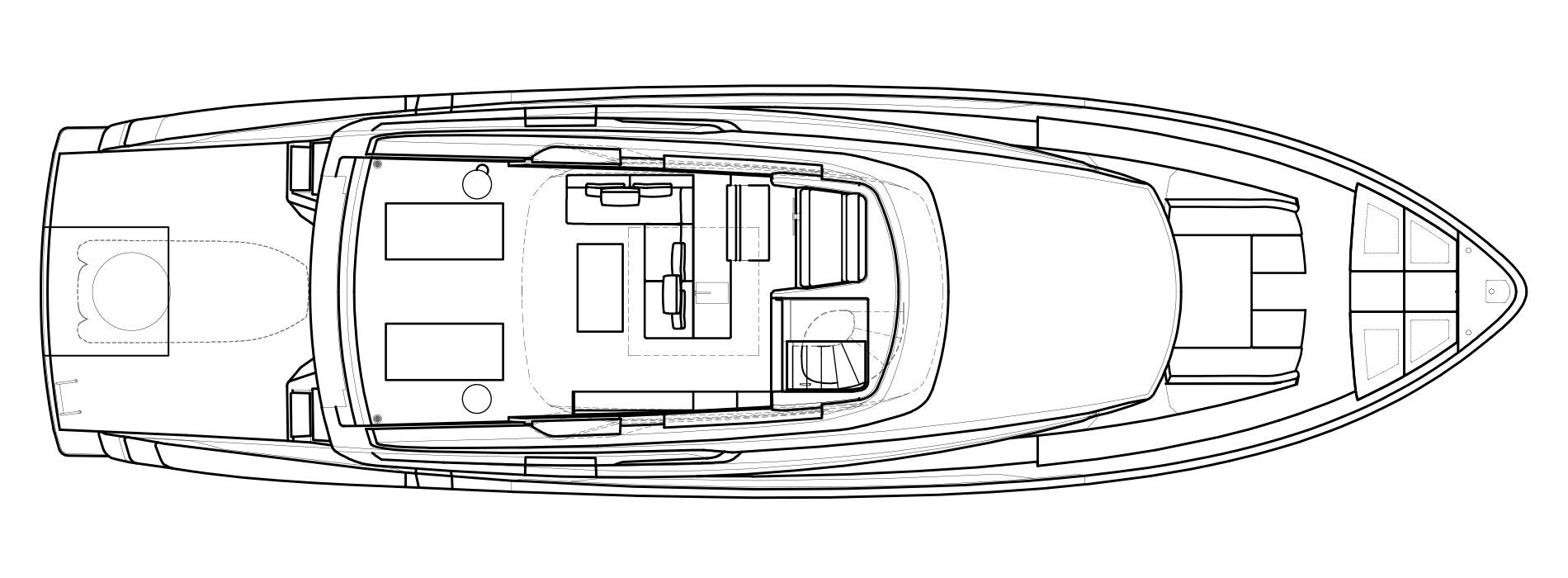 Sanlorenzo Yachts SX76 Außendeck Versione Lissoni