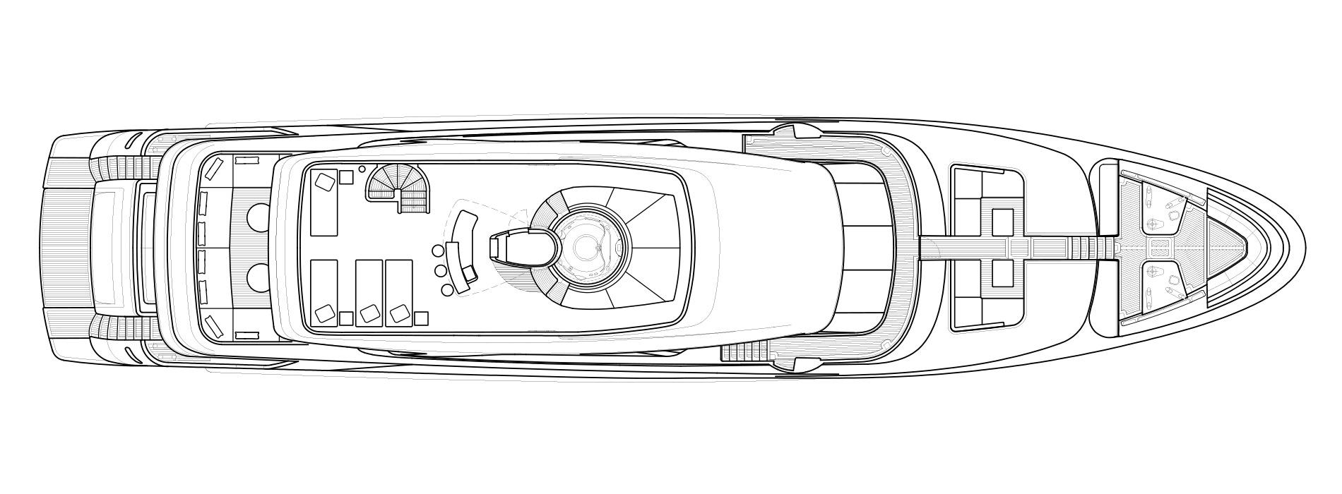 Sanlorenzo Yachts SD126 Außendeck Versione A
