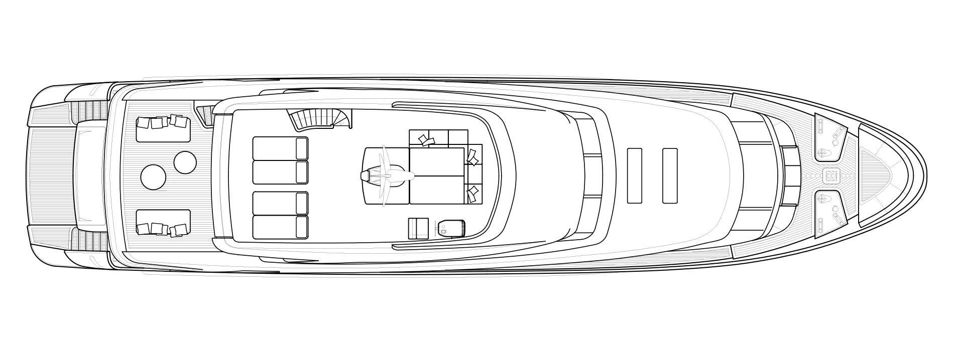 Sanlorenzo Yachts SD112 Außendeck