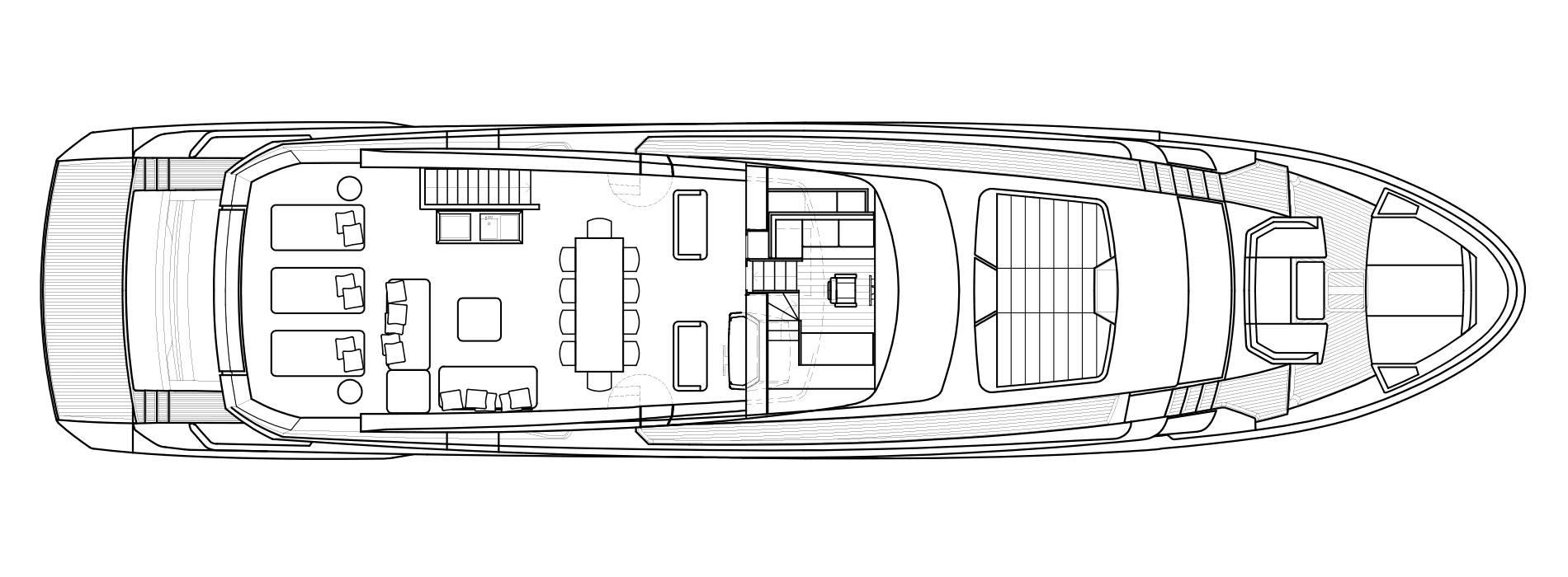 Sanlorenzo Yachts SL102 Asymmetric Außendeck