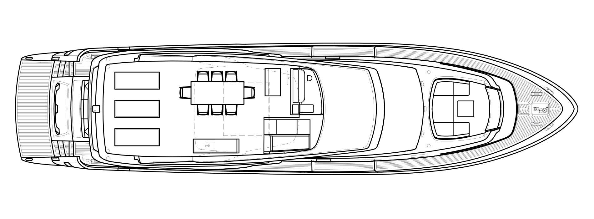 Sanlorenzo Yachts SL78 Außendeck