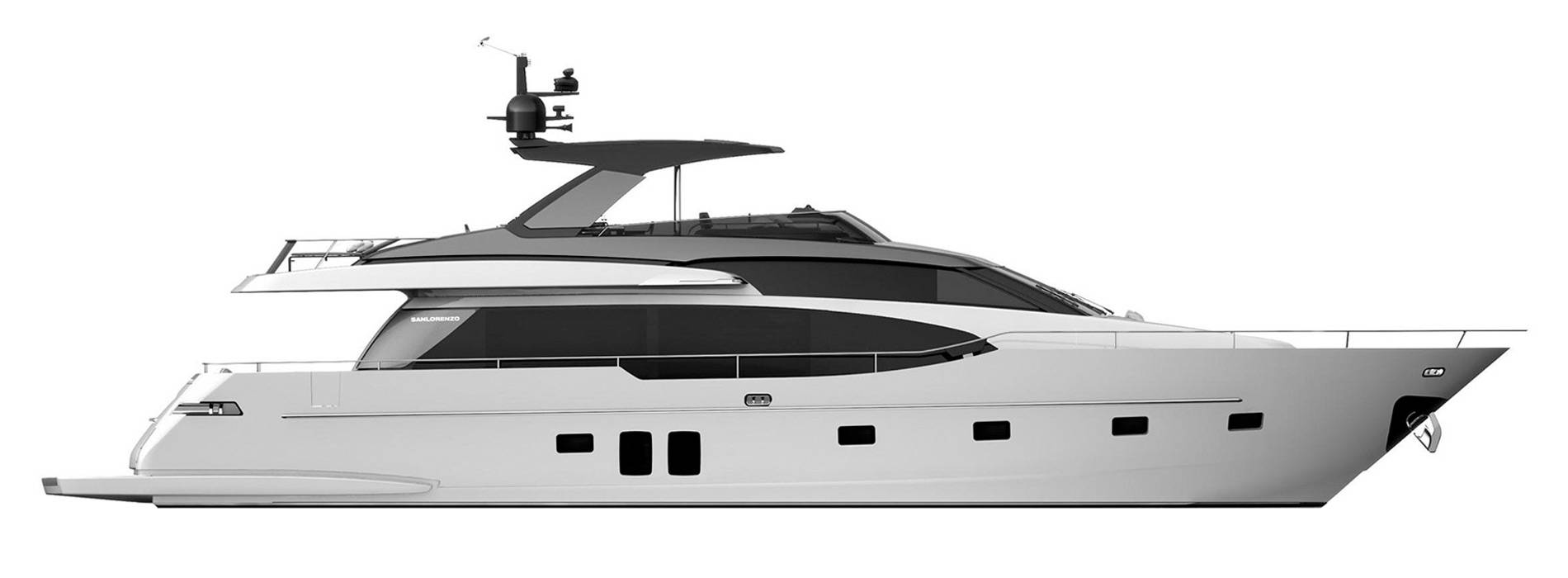 Sanlorenzo Yachts SL78 Profil