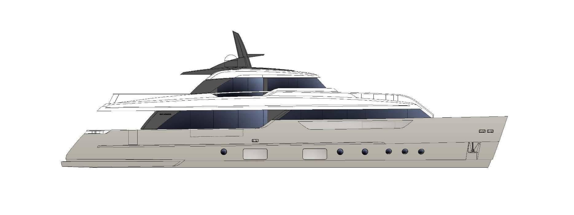 Sanlorenzo Yachts SD96 Profil