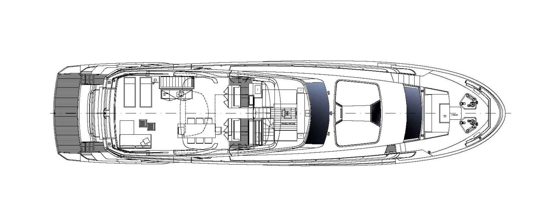 Sanlorenzo Yachts SL96 Asymmetric Pont supérieur