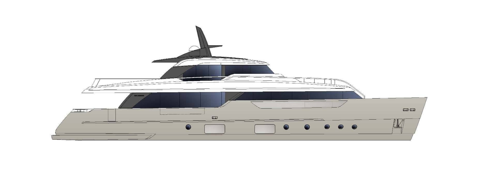 Sanlorenzo Yachts SD96 Perfil
